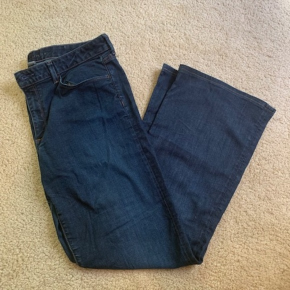 Banana Republic Denim - Banana Republic Dark Denim Jeans Size 33L